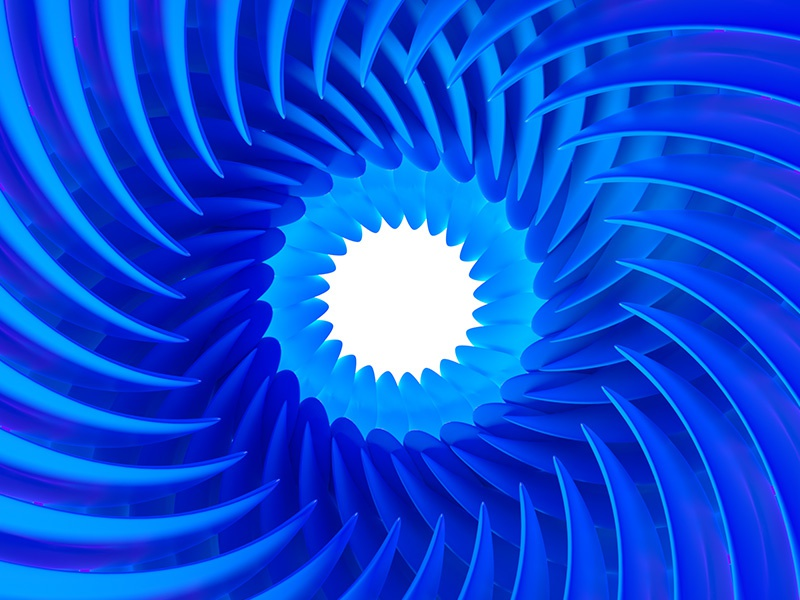 Everyday Practice No. 177 practice concentric circle leaf render 3d