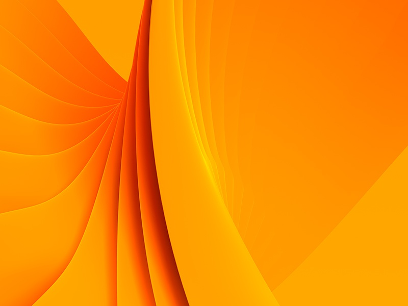 Everyday Practice No. 180 practive wave abstract render 3d orange