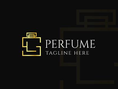 Perfume Monogram Logo Design bottle letter s letter l motion graphics branding editable vector perfume bottle perfume logotype luxury creative unique monogram logo logo