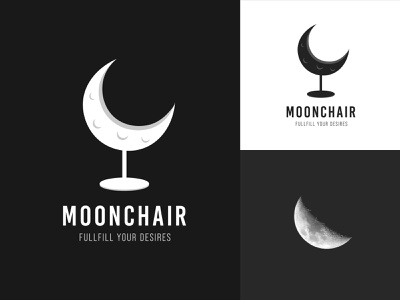 Moonchair Logo Template branding sofa