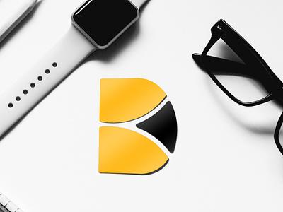Personal Branding Logo (DesignBox)  Concept attractive modern logotype monogram visual identity letterhead business card lettermark unique logo box logo stationery creative minimal brand identity branding