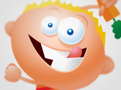 Food Game Character Close Up illustration vector art direction character design
