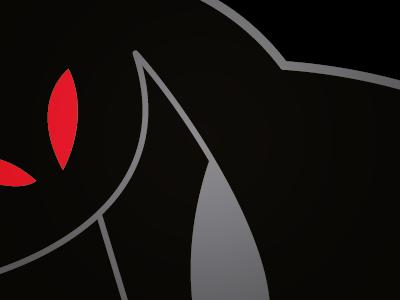 Skulk character design illustration ghost black