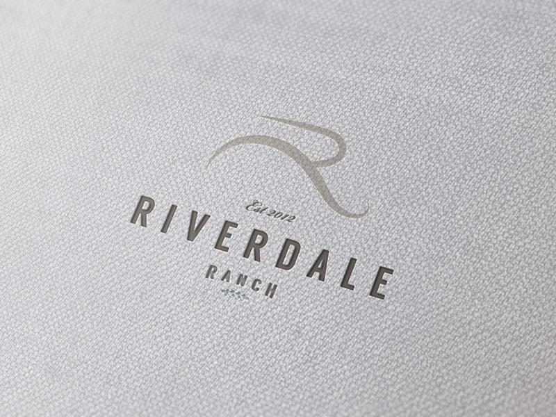 Riverdale // identity ranch hook creative riverdale logo identity