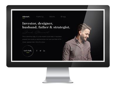 Resume | website