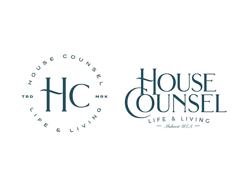House Counsel counsel house identity brand logo