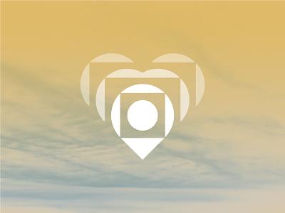 Logo and Voice for Hopeward sinew wiens brian brain heart path hope foreward health mental counsel bird dove help humans human logo