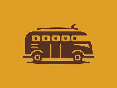 Lets go! car transport beach surf icon bus volkswagon vw van