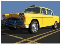 Lyons Dribbble Yellow Cab