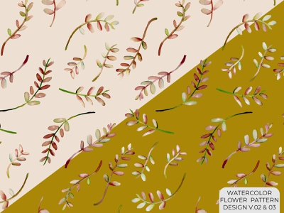 Watercolor flower Seamless pattern watercolor illustration watercolor vine rapport flower surface pattern pattern illustration