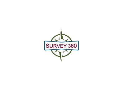 Survey 360 logo compass branding