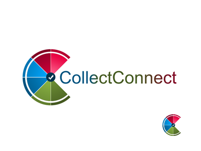 Collect Connect logo chart survey report