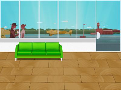 Farewell background web plane illustration airport