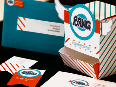BANG Redesign  bang packaging