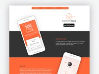 Landing Page - Check My Swag App
