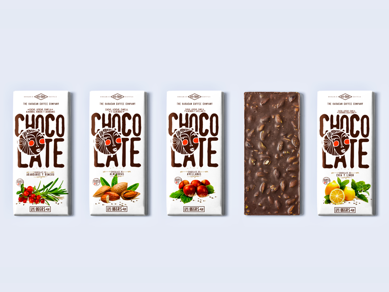 Chocolate® Packaging  chocolate oaxaca art illustration logo brand branding design packaging coffee