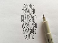 Ruined