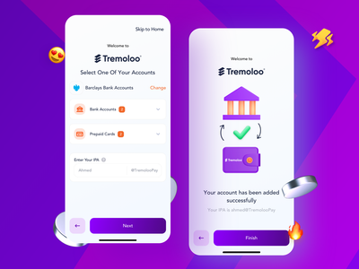 Link Your Bank Account with App   Banking App design illustration ios sketch freebies bind account money bank