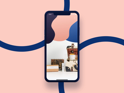 🌸 Modify Perfume's Components | Fragrance Store app shop buying buy freebies free sketch illustration ios freebie motion graphics animation ecommerce