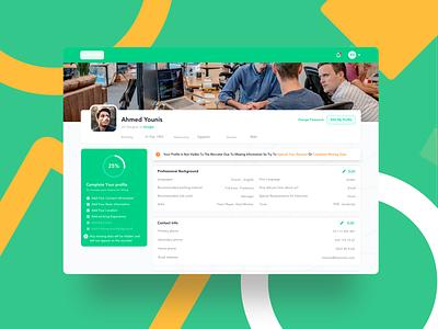 Applicant Profile | Recruiting Platform free recruitment employee freebies freebie sketch