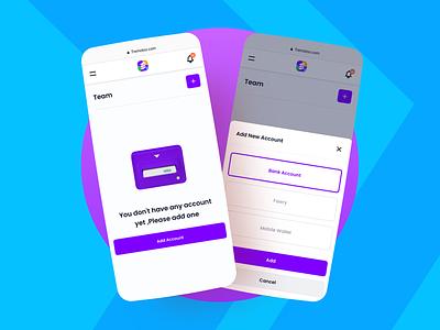 Team Account | Payments Processing Platform
