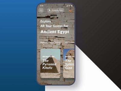 The Pyramids AR Tour Guide free sketch freebies freebie museum camera arkit augmented reality augmented sphinx pyramids pyramid guide art tutankhamun egypt tourist tours tourism tour