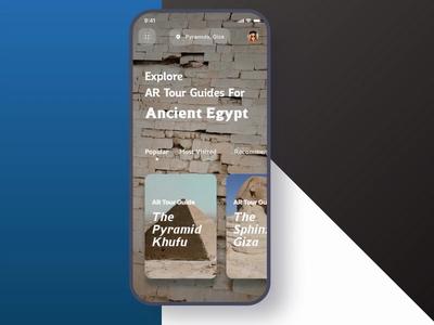 The Pyramids AR Tour Guide free sketch freebies freebie museum camera arkit augmented reality augmented sphinx pyramids pyramid guide art tutankhamun egypt tourist tours tourism tour