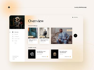 Loyalty Desktop App app interface desktop branding