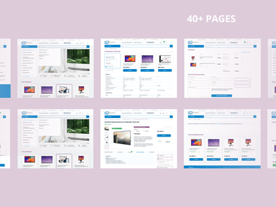 Website re-design for B2B Solution homepage ecommerce photoshop figma pages redesign typography ui ux ui design uidesign uiux ux ux design uxdesign uxui web web design webdesign website website design