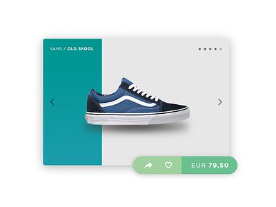 Product Card UI debut thanks slide carousel web design product card ui