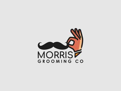 Morris Grooming Co Logo
