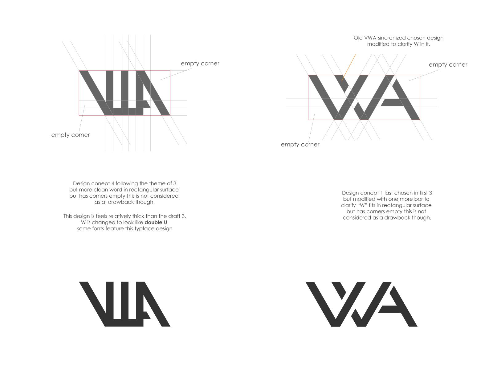 Vwa Logo Ideas By Noman Sajjad Kiyani On Dribbble