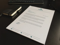 Corporate Letterhead for Business