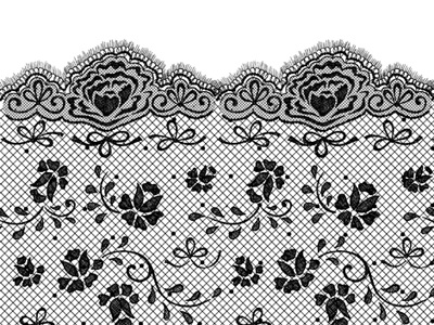 how to draw lace patterns