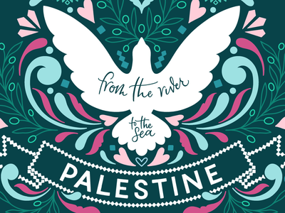 Palestine will be free supporting palestine ornamental flourishes hand drawn lettering typography hand lettering pattern art fundraising for palestine palestinian tribute palestinian art freepalestine gaza save lifta save sheikh jarrah palestine will be free palestine junoon designs