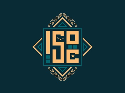 ISOC logo II arabic inspired islamic pattern filigree islam crest graphic art graphi design logo logo design