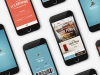 Coffee app Concept