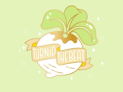 turnip the beat ! money beat vegetables new horizons vegetable game switch animal crossing turnip hand drawn vector hand lettering design type lettering illustration typography