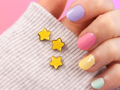 mini stars pin set illustration small mini pin pingame chubby chubby stars cute illustration cute starry sky pin set enamel pins enamel pin pins stars