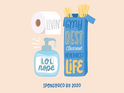 living my best life 2020 nope covid19 brush type letter hand drawn calligraphy hand lettering design type lettering illustration typography covid