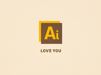 Ai Love You pun icon photoshop lovers valentines day typography pink love i love you ps vday valentine