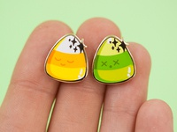 Candy Corn Pin Set