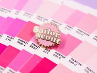 Sailor Scout pin