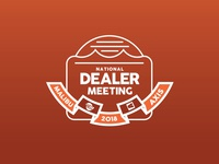 National Dealer Meeting Logo