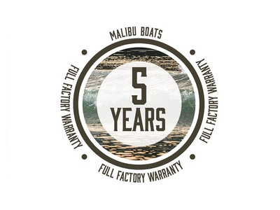 Malibu 5 Year Warranty Logo - Part 1 icons sunset malibu emblem waves surf vector illustration