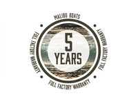 Malibu 5 Year Warranty Logo - Part 1