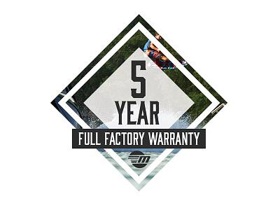 Malibu 5 Year Warranty Logo - Part 2 icons sunset malibu emblem waves surf vector illustration