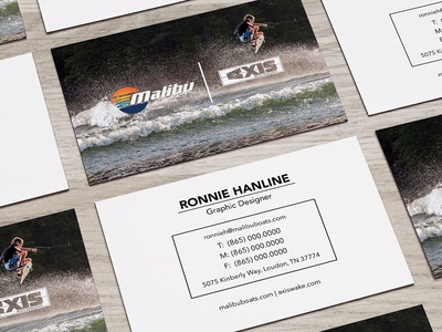 Business Card Design business card card icons sunset malibu emblem waves surf water photoshop