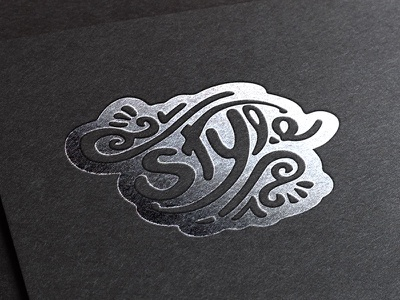 Style Illustration Hand Lettering vector photoshop type illustration hand lettering