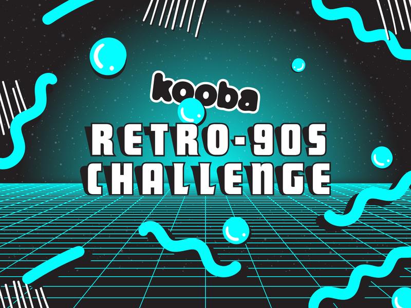 Kooba Retro Challenge challenge ui website design mobile responsive retro retro challenge koobagoesretro